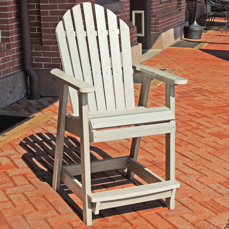 Outdoor-furniture-Adirondack-recycled-plastic-Hamilton-Counter-Deck- - Outdoor Furniture Adirondack Recycled Plastic Hamilton Counter Deck